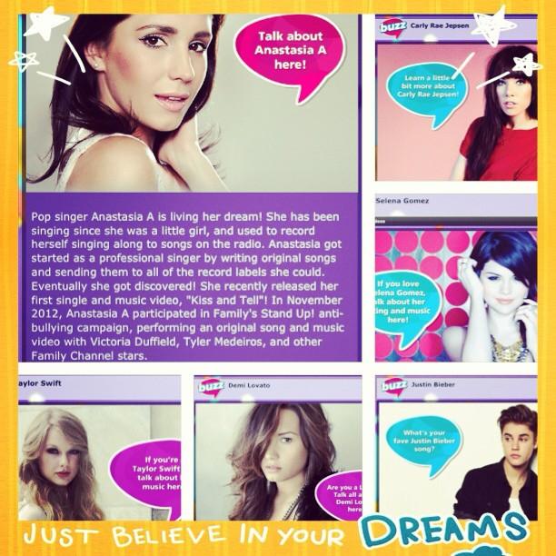 Anastasia, Selena Gomez, Carly Rae Jepson