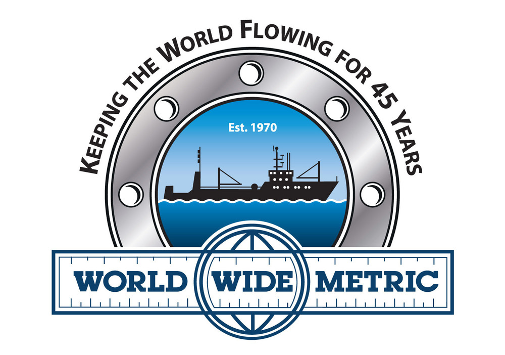 45h Anniversary Logo for World Wide Metric