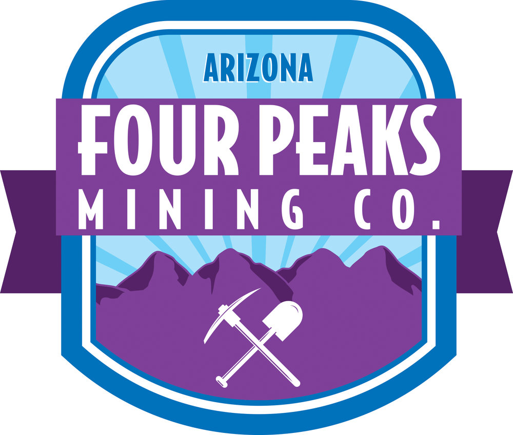Four Peaks Mine Retail Location Logo