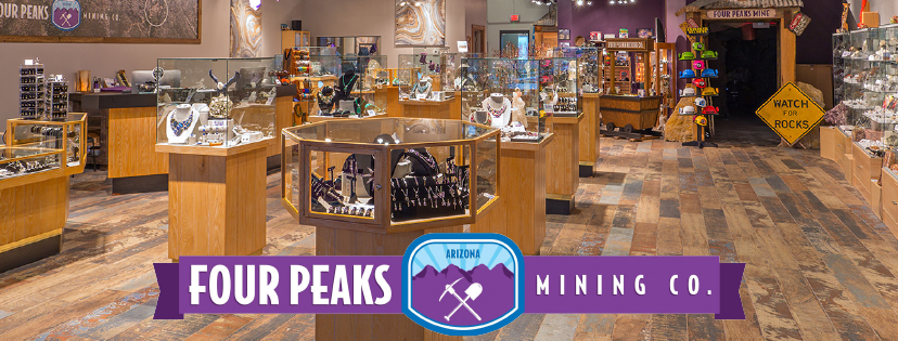 For Peaks Mine's retail location. Photos courtesy of Four Peaks Mine.