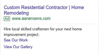 Google Adwords Search Campaigns CPC