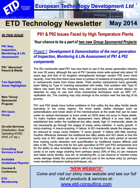 Click for newsletter
