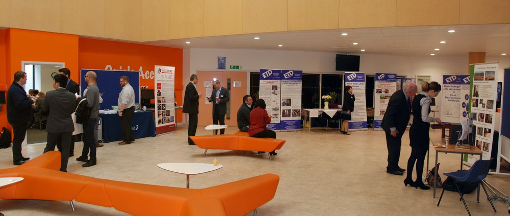 Delegates in the Exhibition Hall