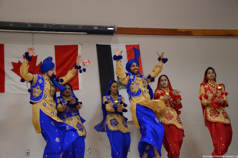 THE WORLD DANCE PROJECT    Bhangra, a Punjabi dance tradition Spring 2015