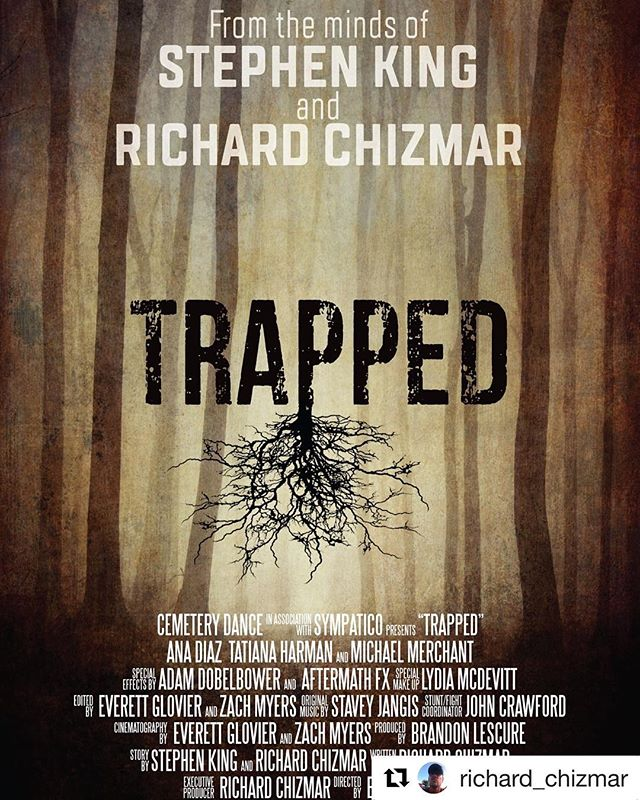 Update on a film that Wayne Productions provided fight choreography and stunt coordination on. • Deep in post production. Finished film due in January. Look for it on the festival circuit and on iTunes, Amazon Prime, and many other platforms in 2019. • #repost @richard_chizmar #stephenking #stephenkingfan #stephenkingmovies #horror #horrormovies #horrorfilms