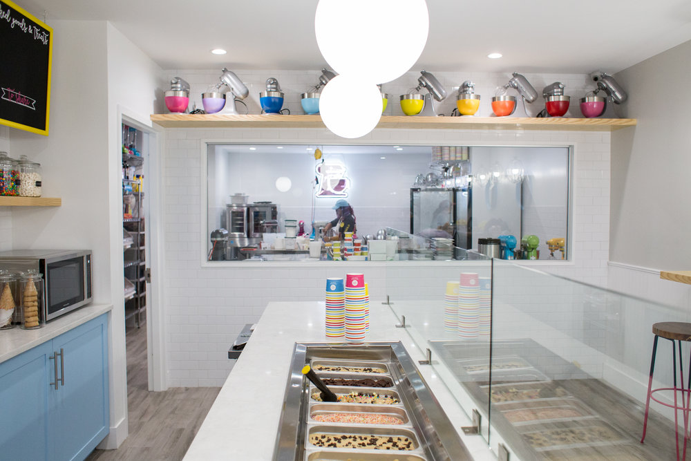 cookie dough shop