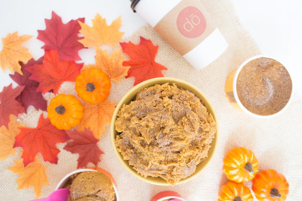 Pumpkin-Spice-Blondie-Dough