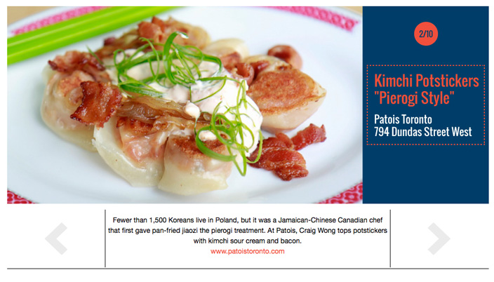 TorontoLife-Patois_InnovativeDishes_KimchiPerogies