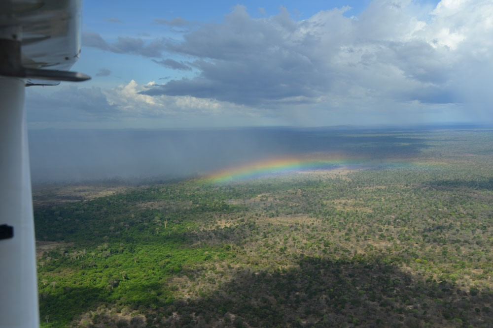 Over the rainbow in Selous.