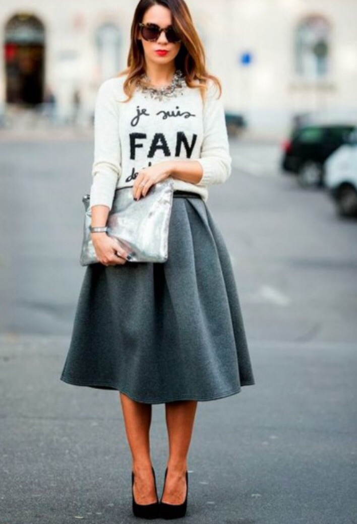 How To Wear A Midi Skirt — Sweet Darling Pâtisserie