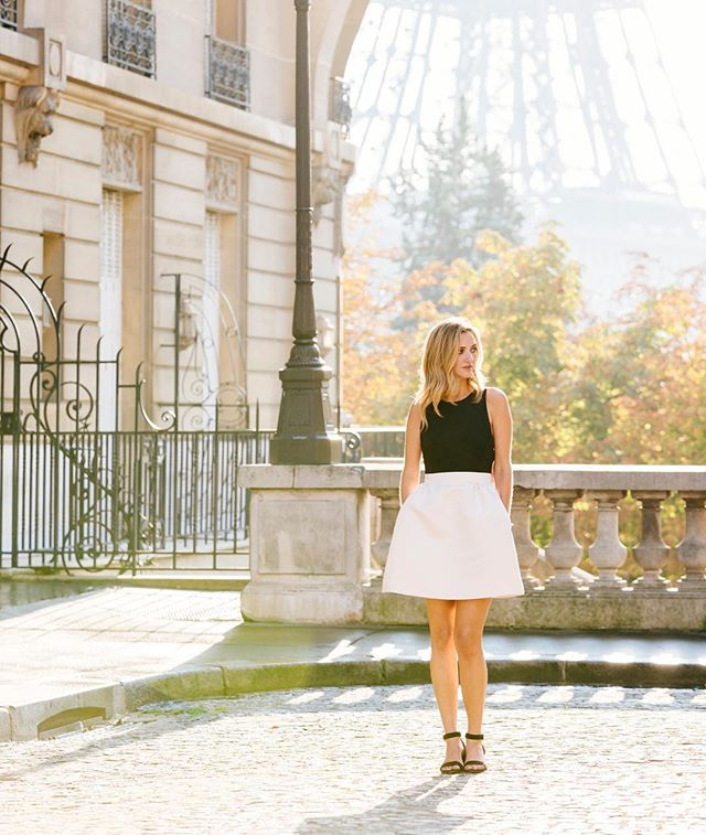A girl in #paris ❤️
