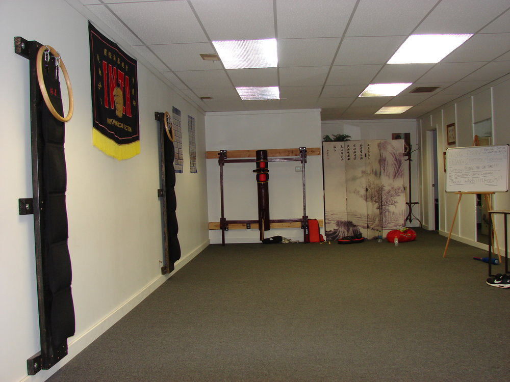 RELAXED WING TSUN TRAINING ENVIRONMENT