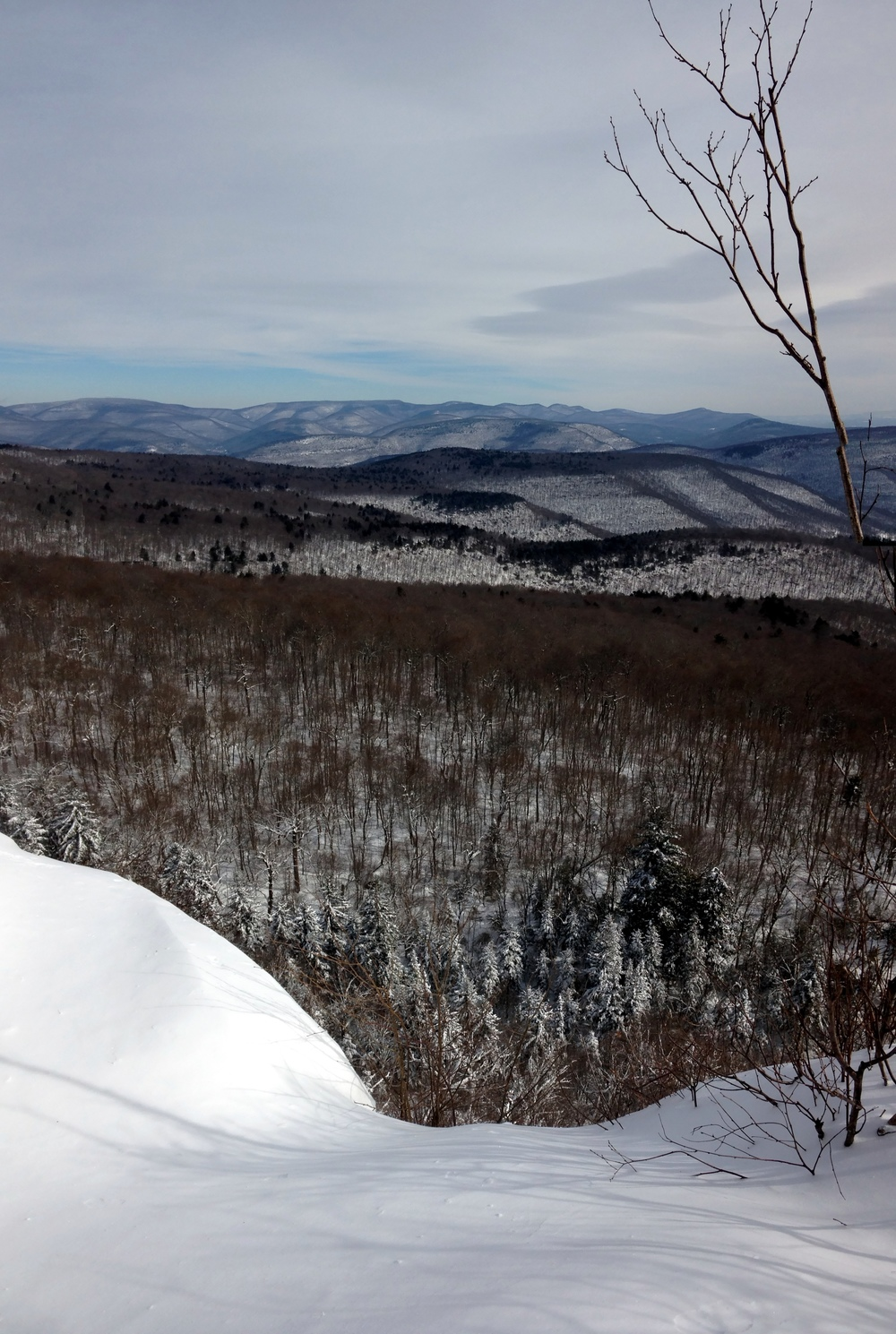 View from Giant Ledge toward Woodland Valley