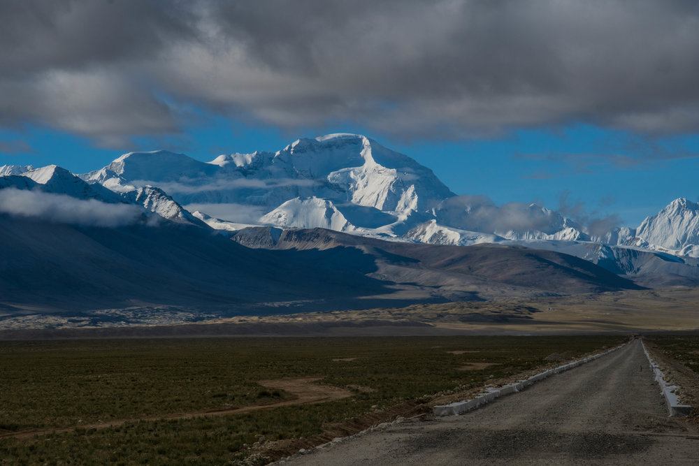 The Road to Base Camp, Cho Oyu, Tibet