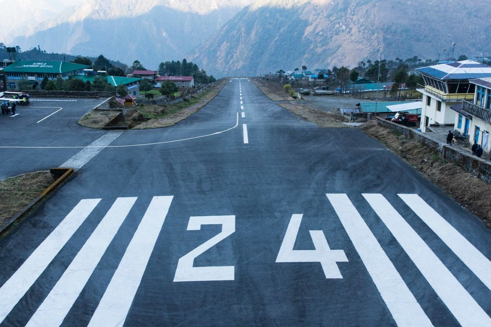 Tenzing-Hilary Airport in Lukla