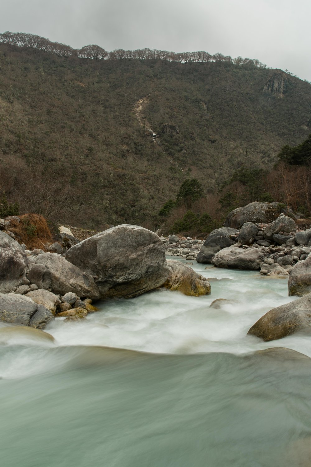 The Dudh Koshi River below Phortse