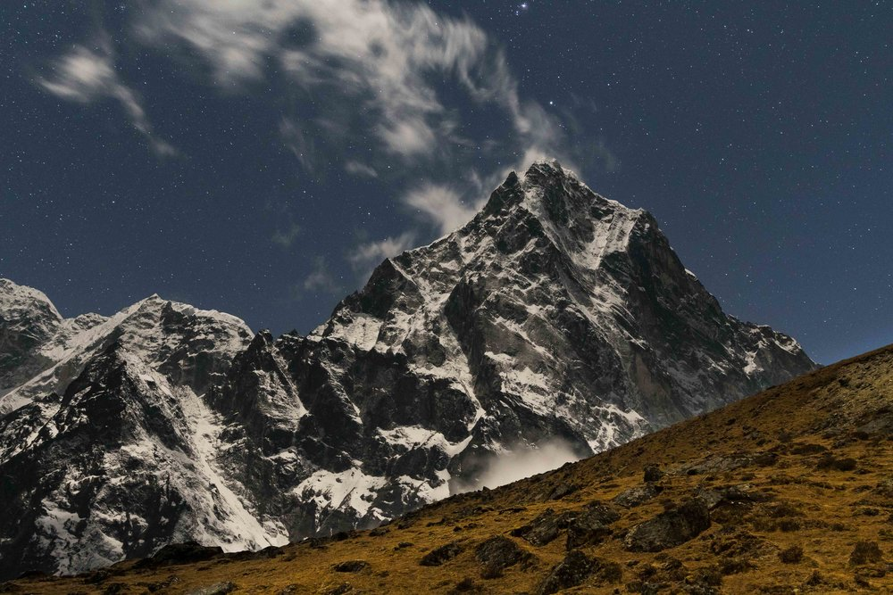 Cholatse from Lobuche Base Camp