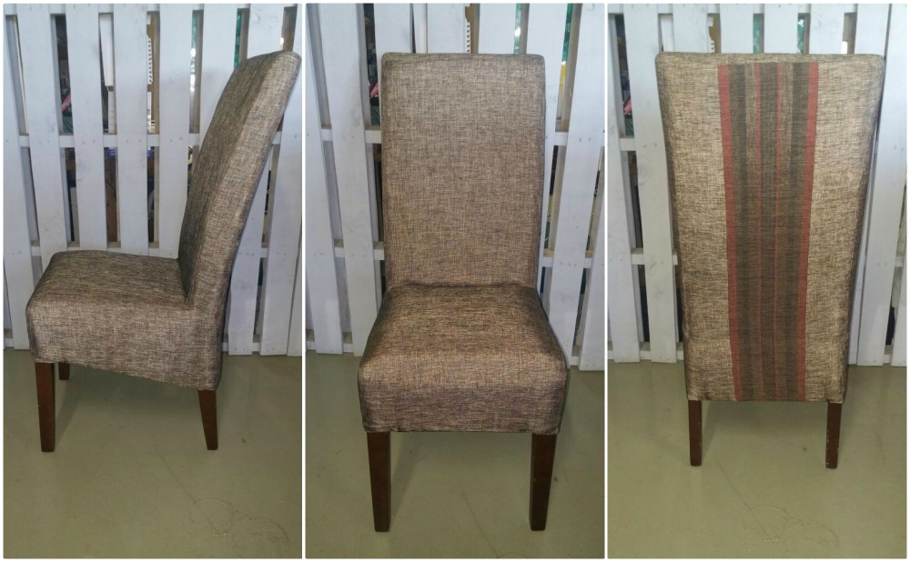 Fully upholstered dining room chairs