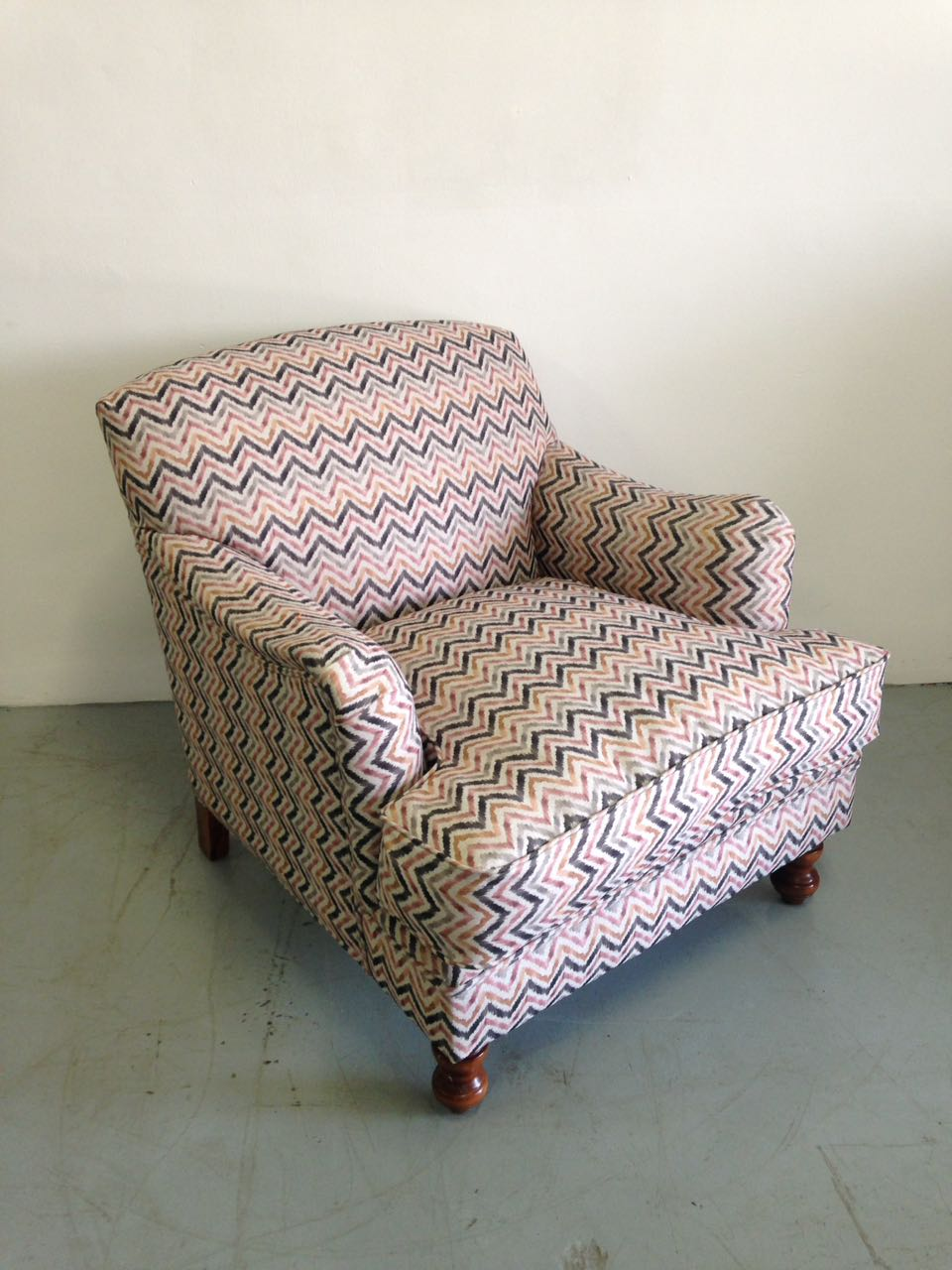 Shevron Fabric Chair