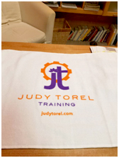 Judy Torel Training Towels - $18