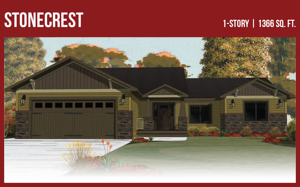 StoneMill Home Plan Stonecrest