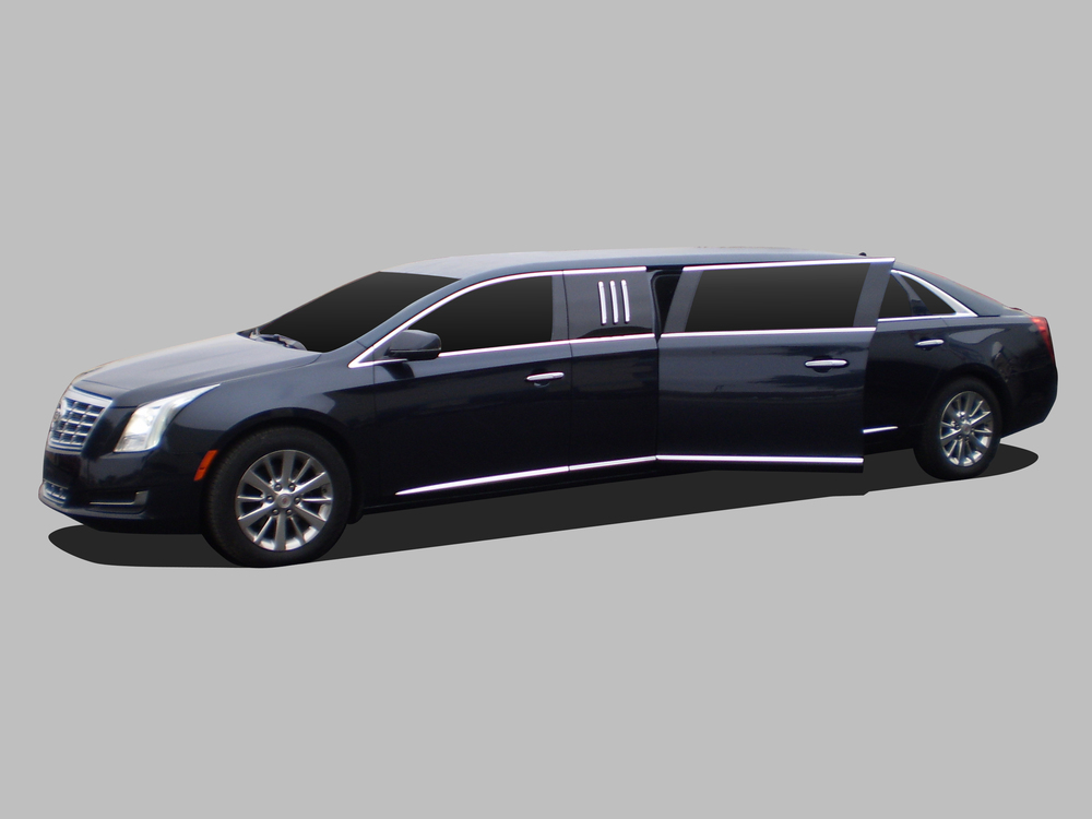 Cadillac XTS shown with 5th door option.
