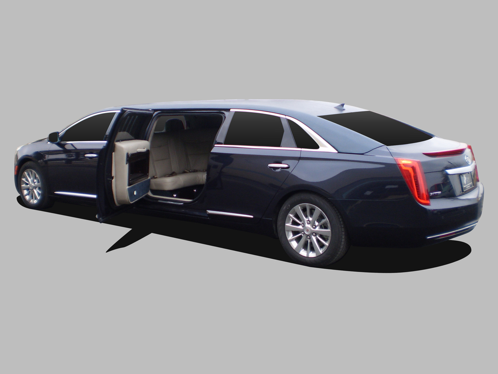Cadillac XTS Limousine shown with 5th door option.