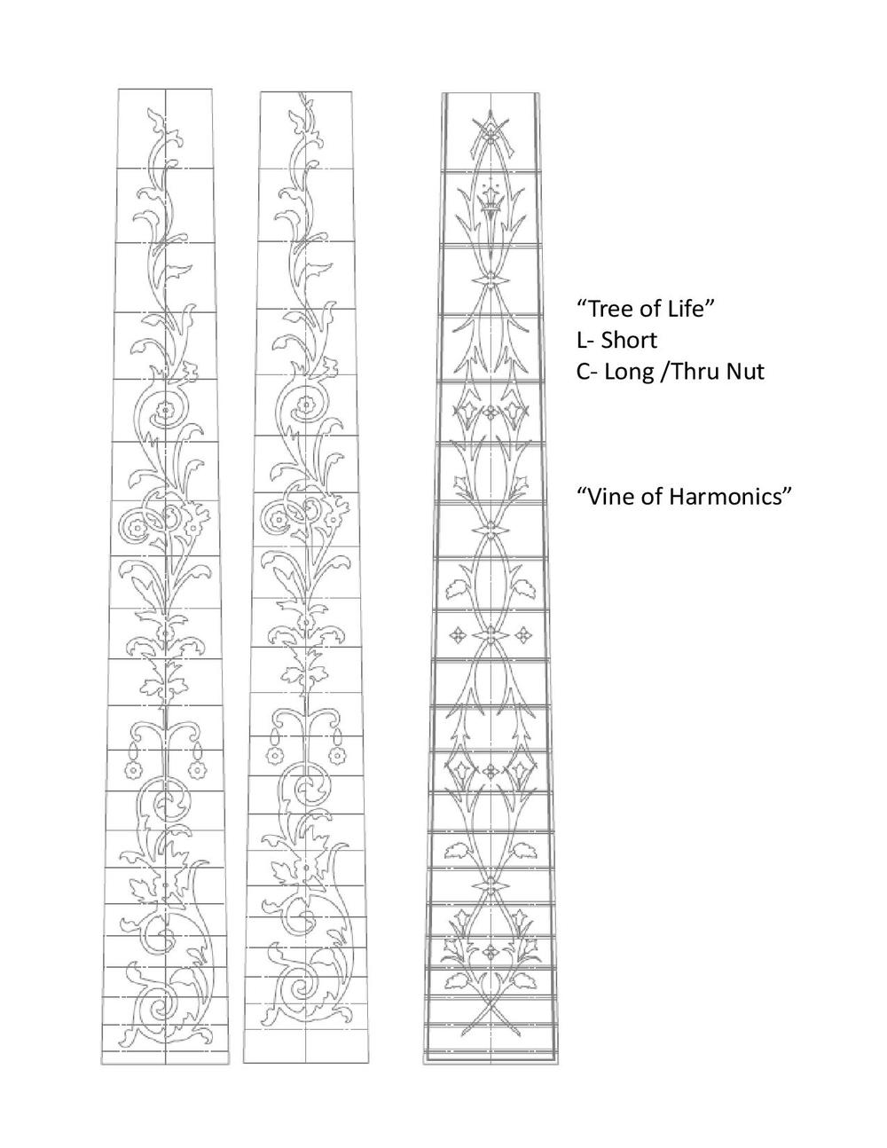 """Tree of Life"" , ""Vine of Harmonics"""