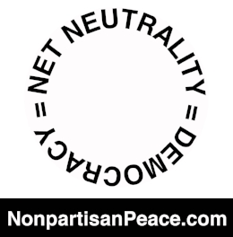 Net Neutrality = Democracy Gloria Steinem Jennifer Elster @Nonpartisan Peace dotcom.jpg