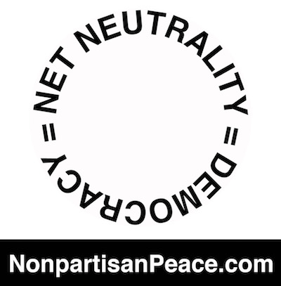Net Neutrality = Democracy Gloria Steinem Jennifer Elster @Nonpartisan Peace dotcom 400.jpg