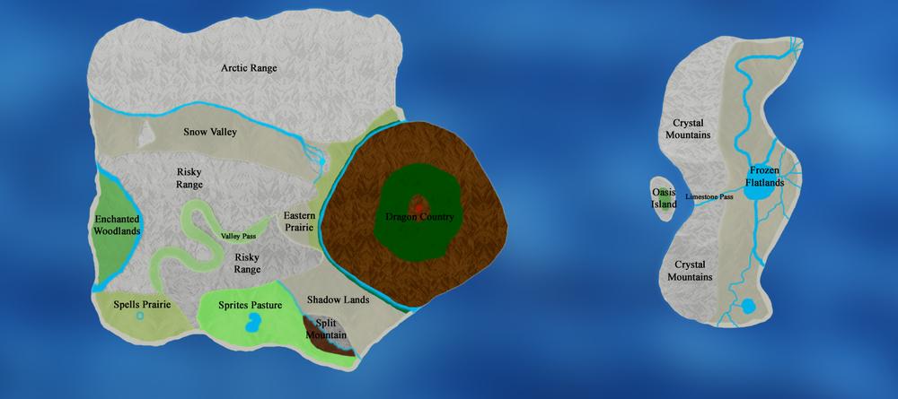 Sarvannia:  World Map