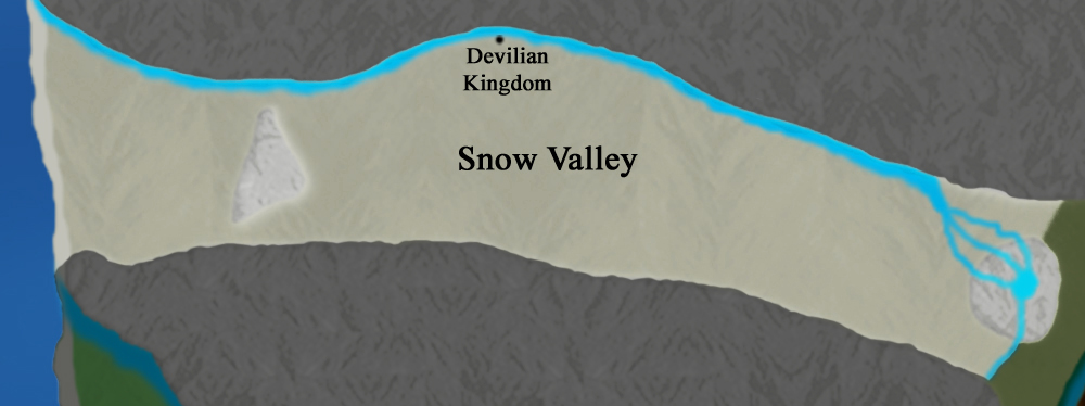 Main Continent:  Snow Valley