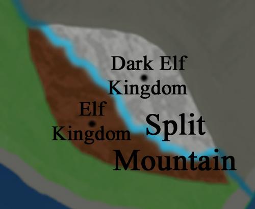 Main Continent:  Split Mountain
