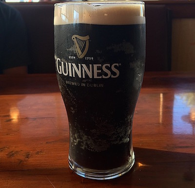 Guinness Beer on Draft