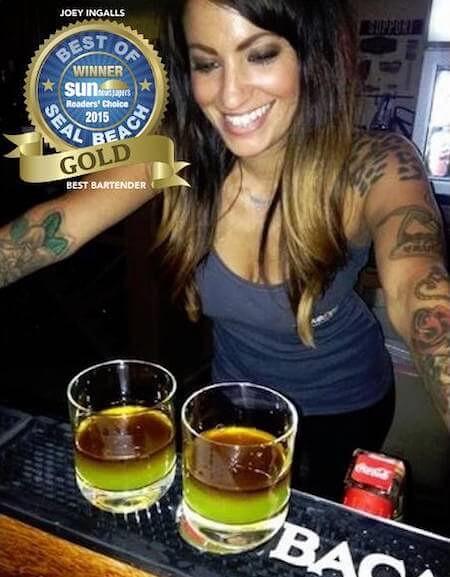 Best Bartender in Seal Beach 2015