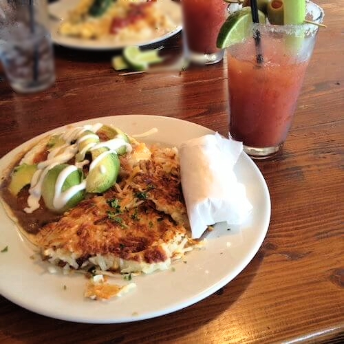 HUEVOS RANCHEROS SEAL BEACH