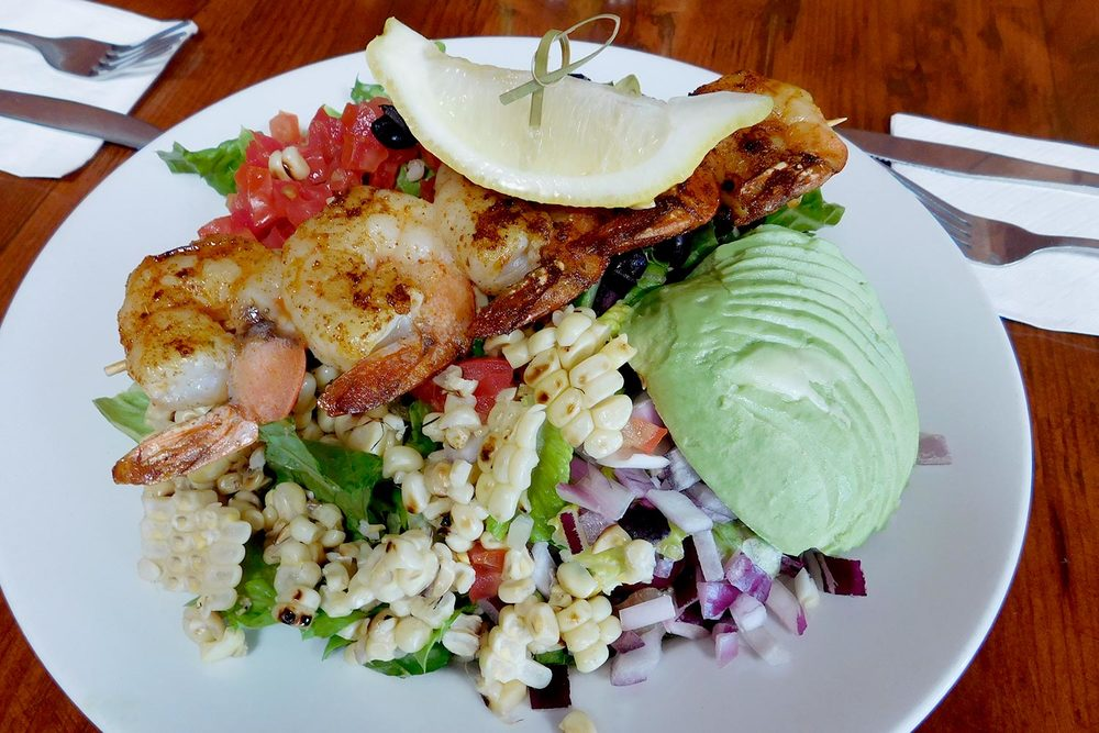 Cajun Shrimp Salad Huntington Beach