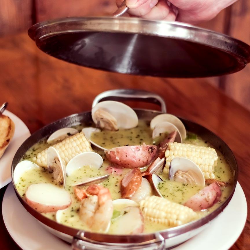 The Shrimp Pot: 3 Broth Choices
