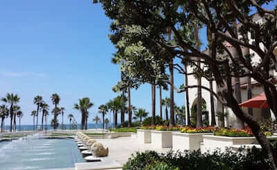 Hyatt Hotel and Spa in Huntington Beach CA