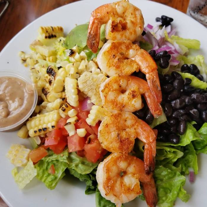Best Cajun Shrimp Salad in Seal Beach/Long Beach