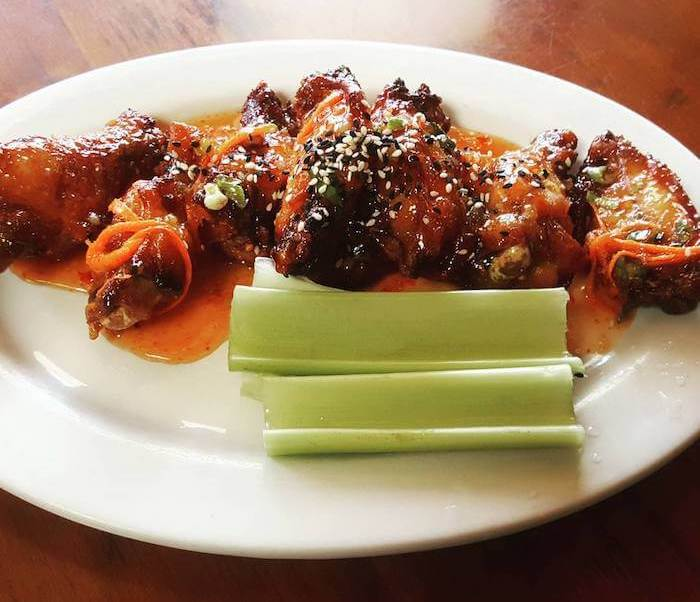Variety of Chicken Wings -