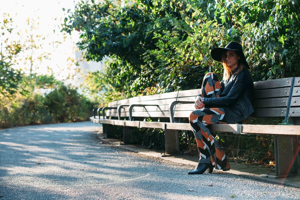 Photographed by  Evan Rummel   Wearing: Pants: Elevenses, Top:  Topshop  ,  Jacket: Isabella Lucca   Other looks:
