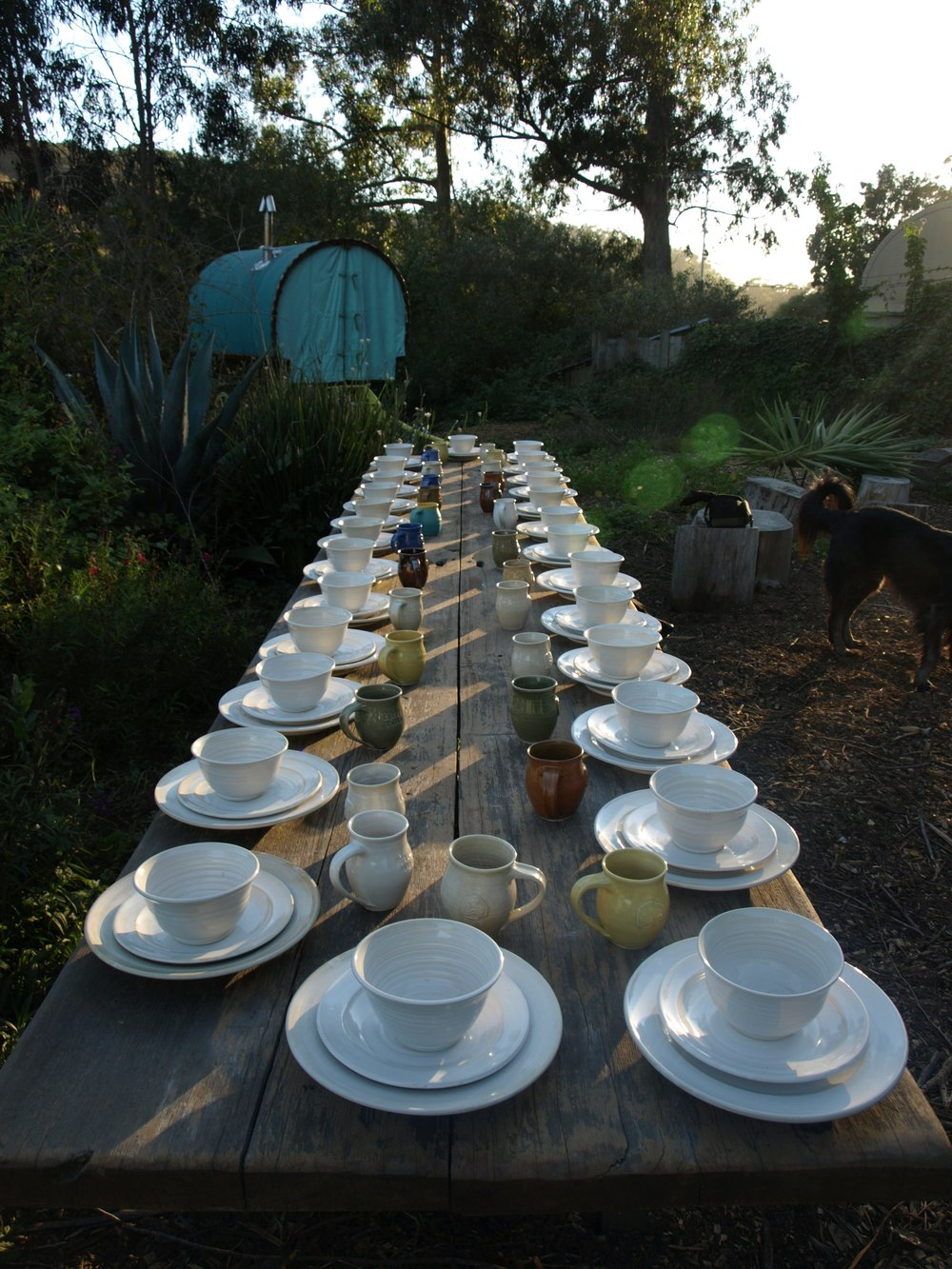 Harley Farms dinnerware
