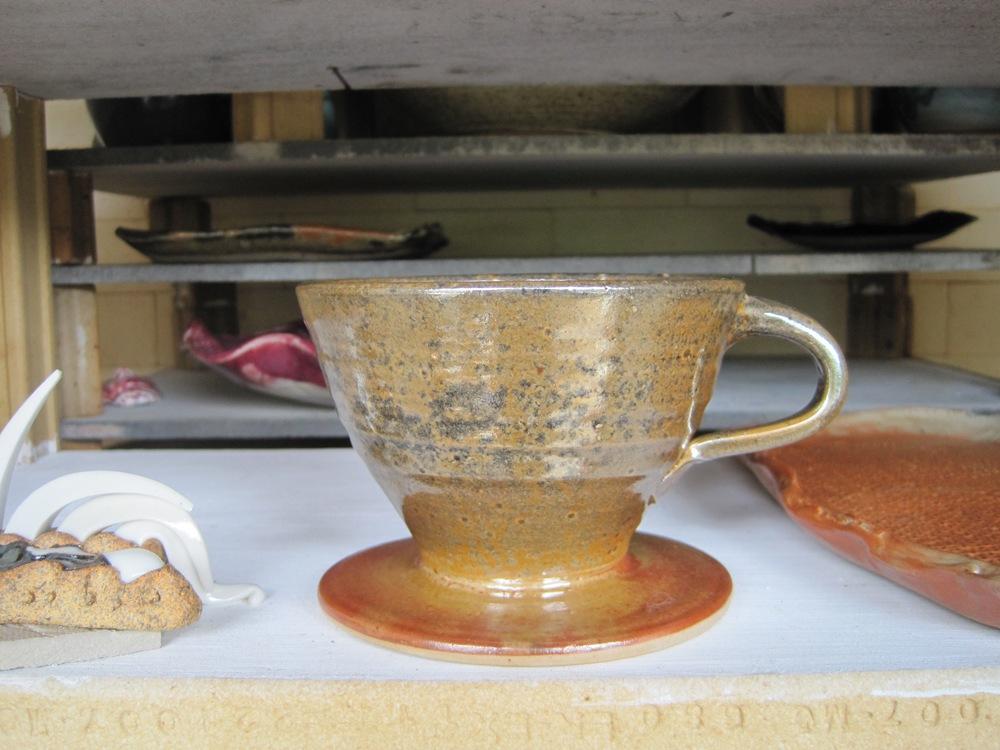 Shino coffee filter cone