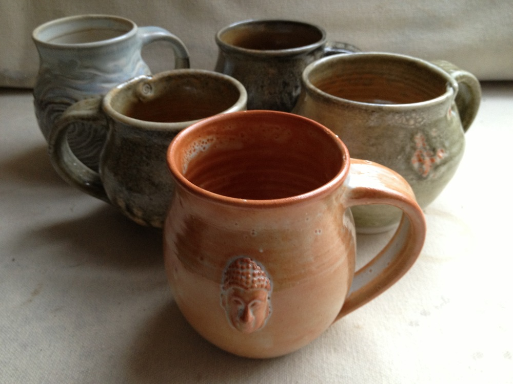 Assortment of mugs