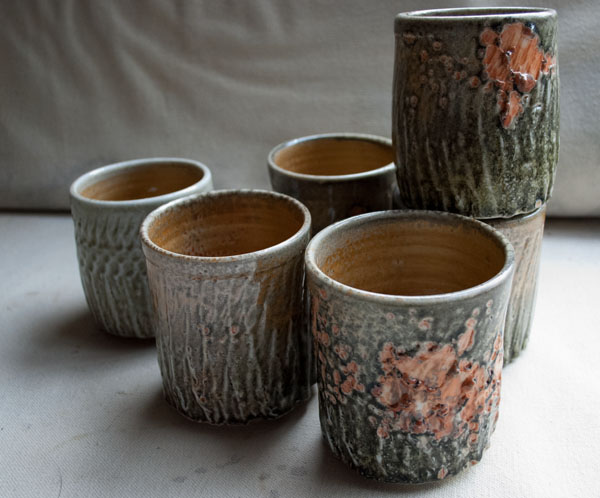 Set of shino cups