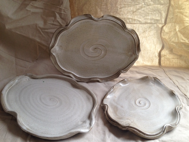 Literally-Thrown Platters for Alembic!