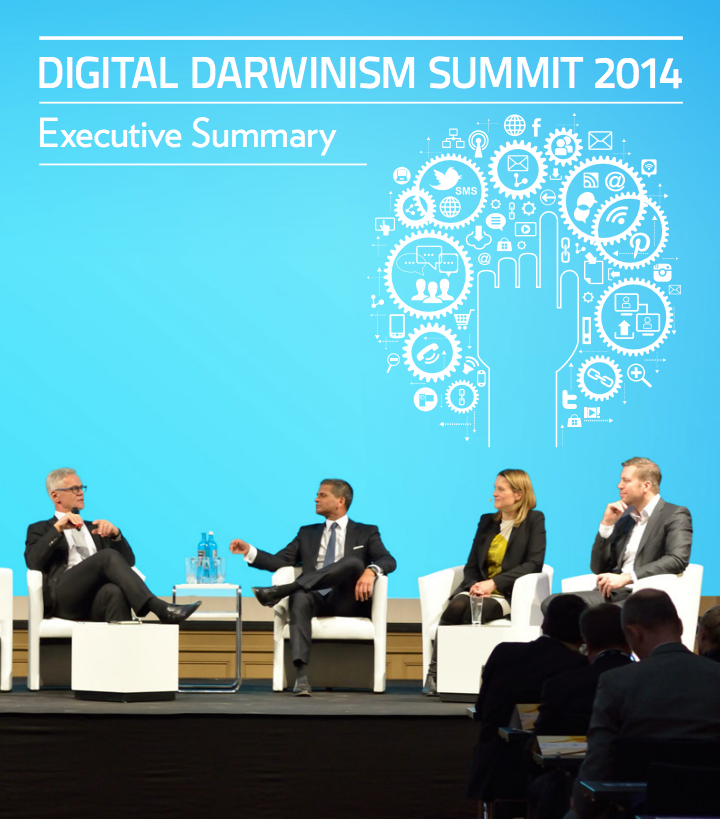 You can download the Executive Summary for Digital Darwinism 2014  here .