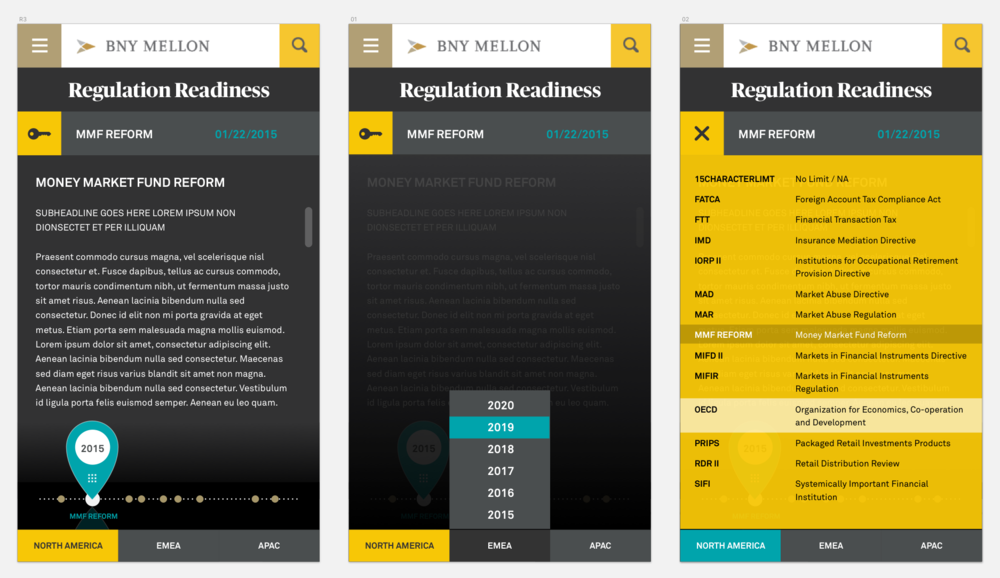 - FinalThe final design was more developer-friendly and compatible with BNY Mellon's enterprise content management system.