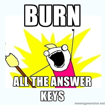 Burn All The Keys